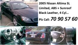 05 Nissan ALTIMA SL fully loaded 4 cyl