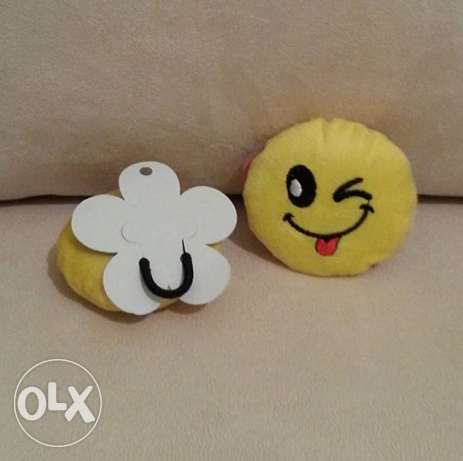 Emoji Hair Rubber Band المرفأ -  3