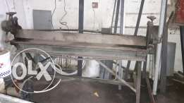 3 machine 2 bending machine and 1 steel cutter For sale