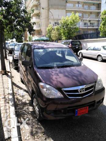 toyota avanza 2010 for rent
