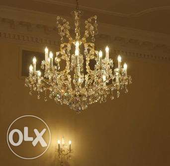 Maria Theresa chandeliers x3