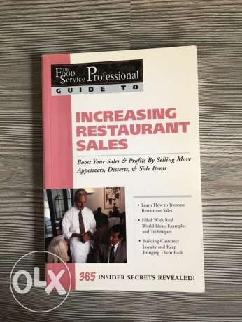6 food service booklets