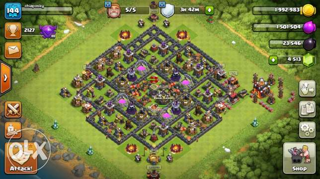 Clash of clans-Boom Beach-Hay Day
