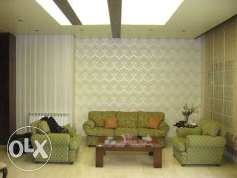 170 sqm decorated furnished apartment for rent in New Martakla Hazmieh