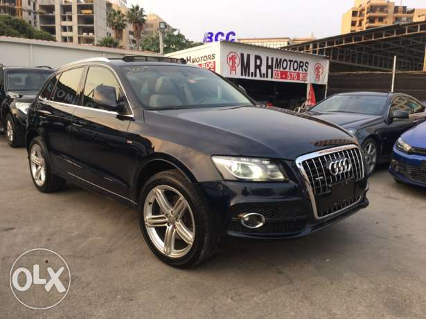 Audi Q5 S Line 2009 Blue Black Top of the Line in Excellent Condition! بوشرية -  5