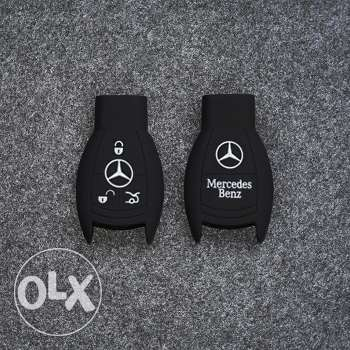 Mercedes-Benz smart car key silicone cover (2 designs - 2 pics)