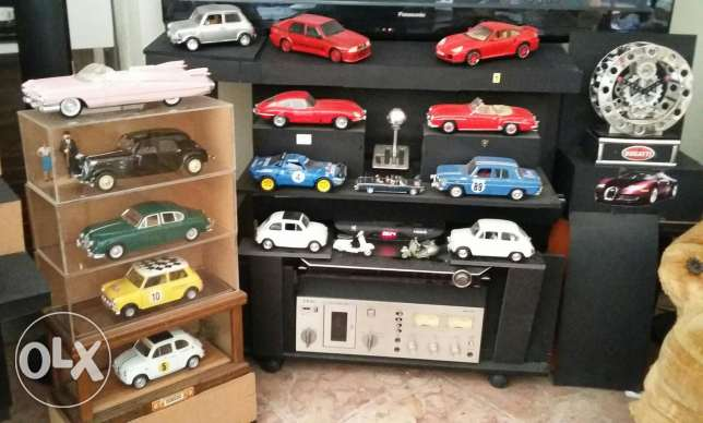 Diecast mofelcars of 1:18 scale