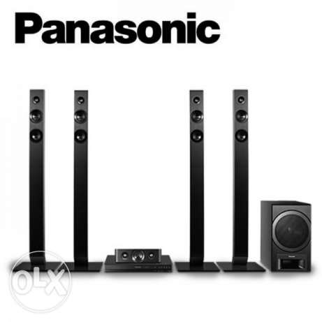 Panasonic home theater & Denon Blue Ray & more than 100 Blue Ray CD