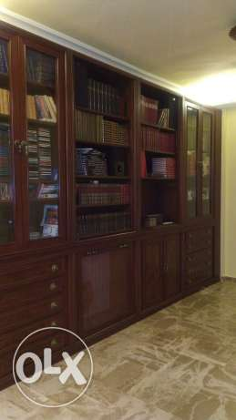 Beautiful wood bibliotheque كسروان -  1