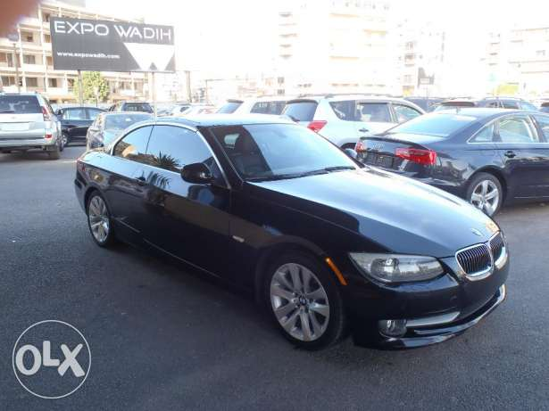 BMW 328 I 2011 CONVERTIBLE ,new look,led,keyless,SENSORS,BLACK ON BLAC