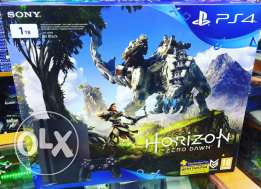ps4 1tb+horizonzerodawn+3 monthes online