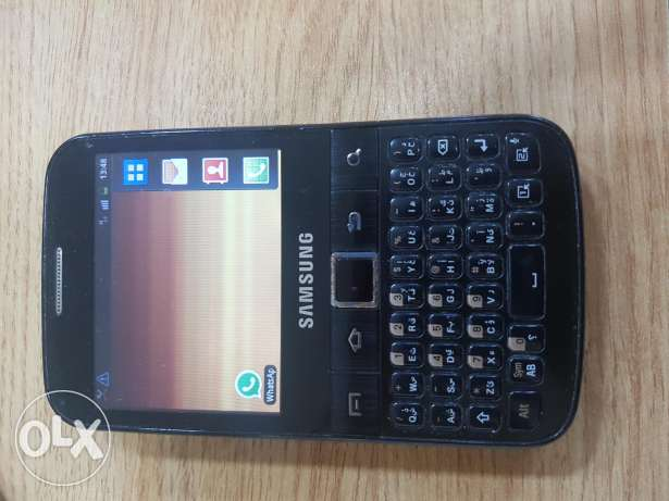 samsung galaxy y pro yung touch and keyboard