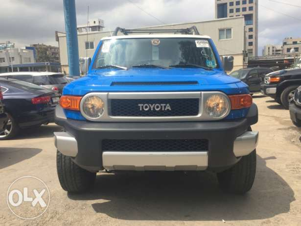 Toyota 2008 FJ Cruiser clean carfax imported from usa