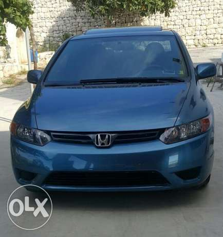 Honda civic blue جبيل -  1