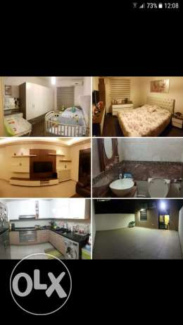 At ayout mansoureye for sale apartment 120m .35 m terrace furnished