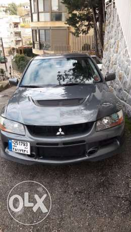 Mitsubishi evo 9 MR model 2006.Horse power 300