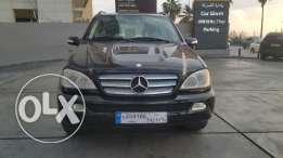 Mercedes ML 350/2005 مصدر وصيانة الشركه European specs, black full opt
