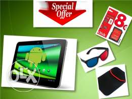 ATouch 3D Tablet (Made In Japan) +FREE Cover, SD & 3D Glasses