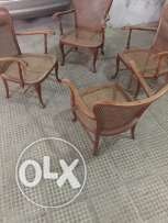 4 pieces saloon chair
