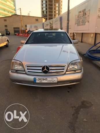 Mercedes CL500 For Sale سن الفيل -  1