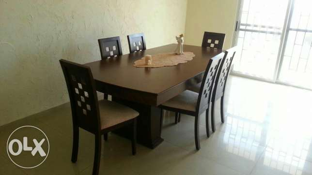 Dining room for sale...6chairs...good quality