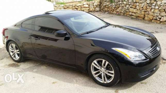 2008 G37 coupe black technology package سن الفيل -  2