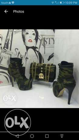 Army bags & shoes