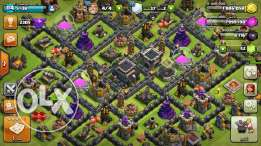 clash of clans 9 ماكس