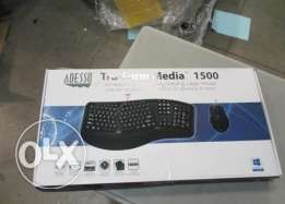Adesso Tru-Form Wireless keyboard and mouse