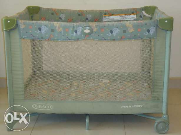 Gracco Park for Baby/Toddler with Sleep Comfort mattress for Sale