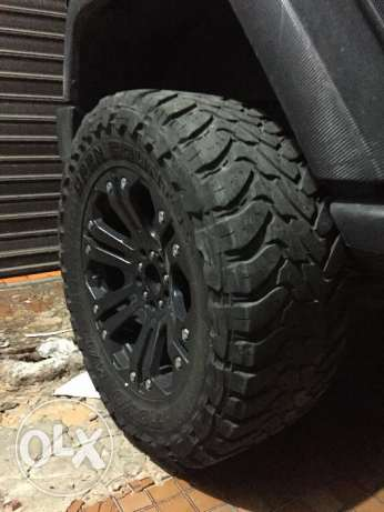 35inch Toyo Tires + XD Series 20inch Rims for Wrangler المتن -  2