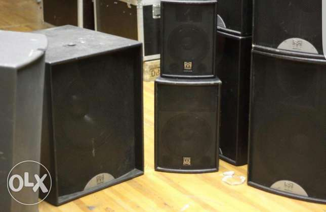 Speakers sound system for rent