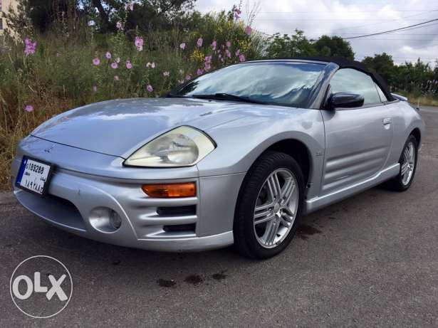 mitsubishi convertible full options very good condition