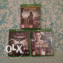 Three Xbox one games