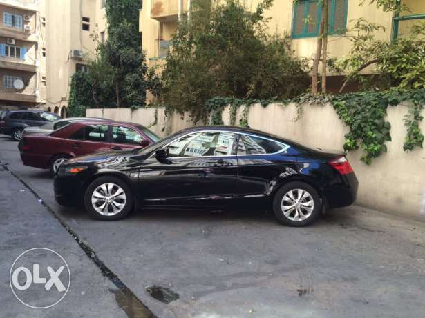 accord coupe 4cyl exl blk on blk clean البداوي -  1