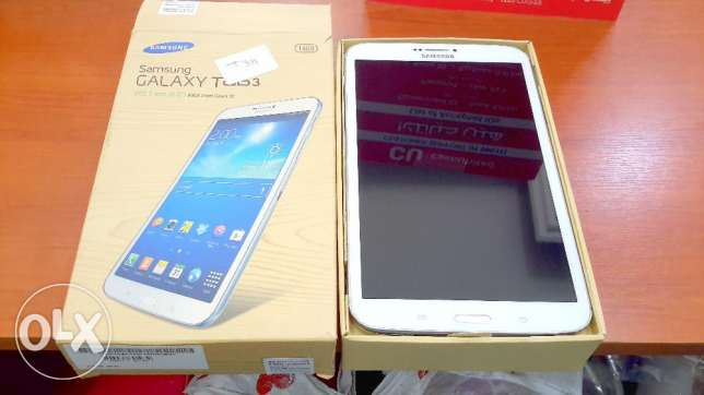 TAB 3 8 Inch T311 Mobile With Sim ( Original Samsung Not Copy ) ..16 G