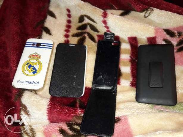 Covers note2 note3 w j7 and iphone be7ale mnee7a