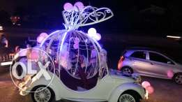 Reserve your 3 wedding car only for 450$