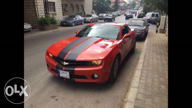 Camaro RS 2010 modified exhaust-mapping-filter excellent condition