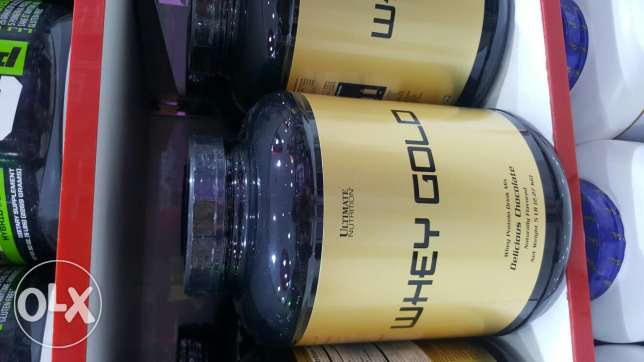 The new ultimate whey protien, whey gold & syntha gold