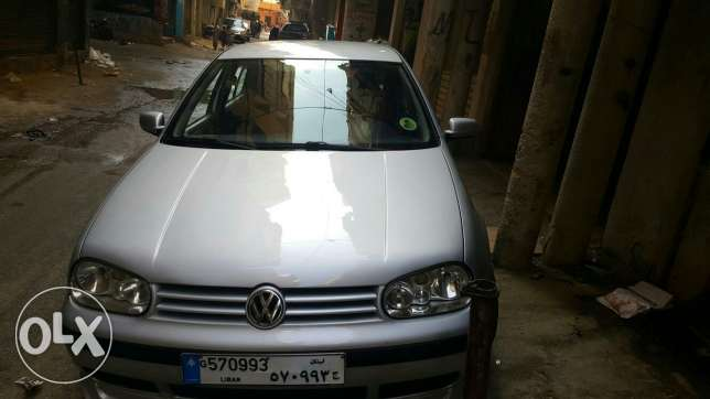 Golf model 2002 full option