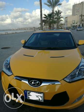 Veloster 2013 yellow super clean