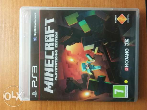 Minecraft for PS3 بعبدا -  1