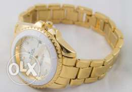 Rolex Watch -Gold Color - For Women