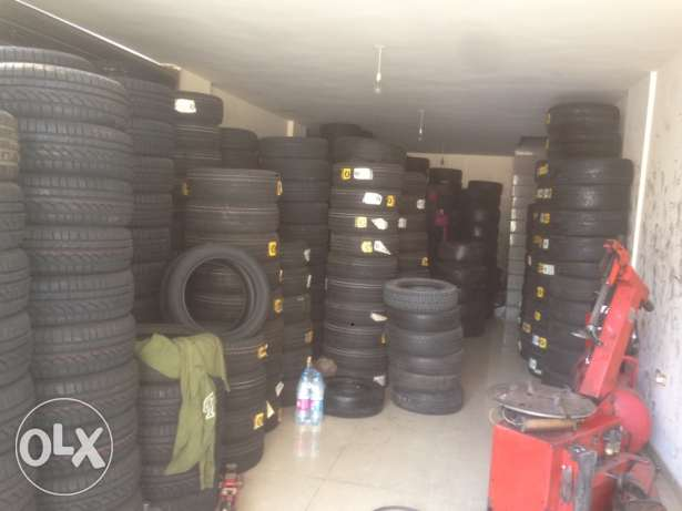 new and used German tires
