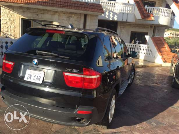 2008 x5 black /black ricaro seats panoramic exonon جبيل -  4
