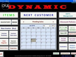 DYNAMIC, Accounting and Store Computer Software Program