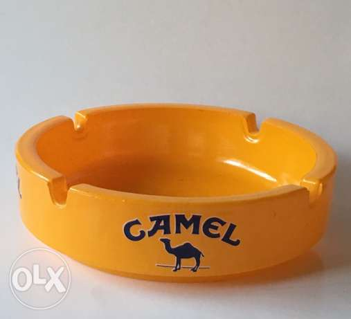 collectible Camel Ashtray made in switzerland