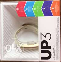 Jawbone UP3 for Sale (White & Gold)
