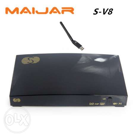[Genuine] S-V8 HD Satellite Receiver S V8